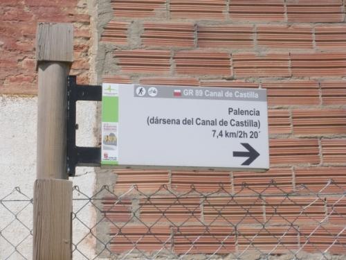 Foto 11 - Señalización Canal de Castilla